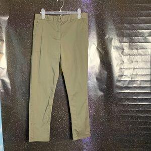 "Gap- ""Khakis by Gap Broken-in Green Pants size 8R"